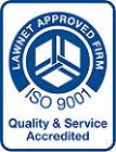 Lawnet ISO 9001 Quality Standard Logo